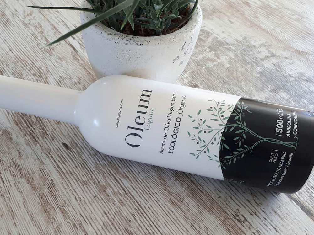 Botella de AOVE ecológico