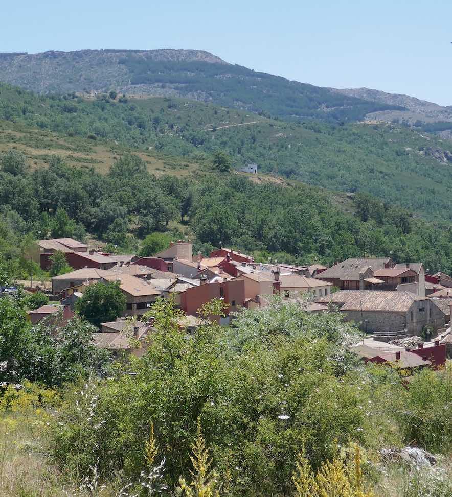 Panorámica de Puebla de la Sierra